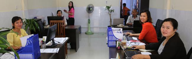 Ouverture du bureau à Siem Reap