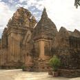 Les vestiges des tours Cham