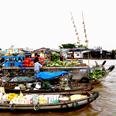 Le marché flottant me Cai Rang