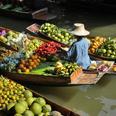 Le marché flottant de Damnoern Saduak