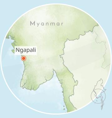 Ngapali, Myanmar