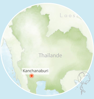 Kanchanaburi, Voyage en Thaïlande