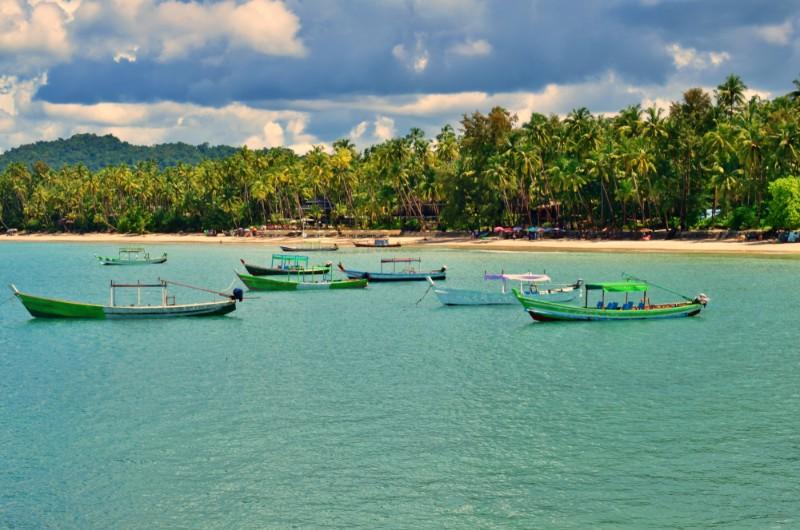 ngapali, myanmar, birmanie, voyage, asiatica travel, plage, mer, bateau