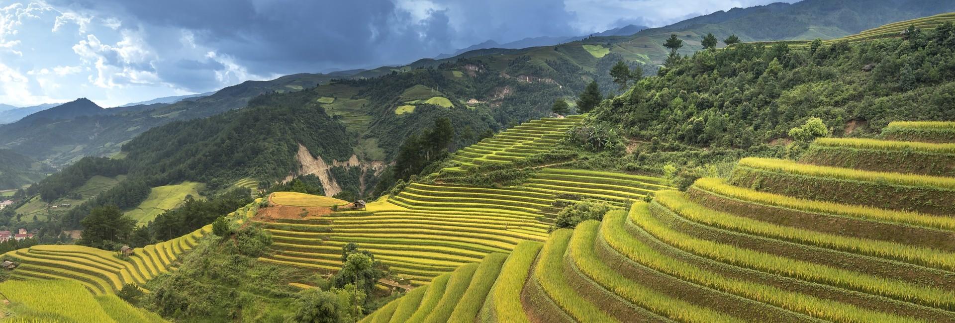 Randonnée à Hoang Su Phi