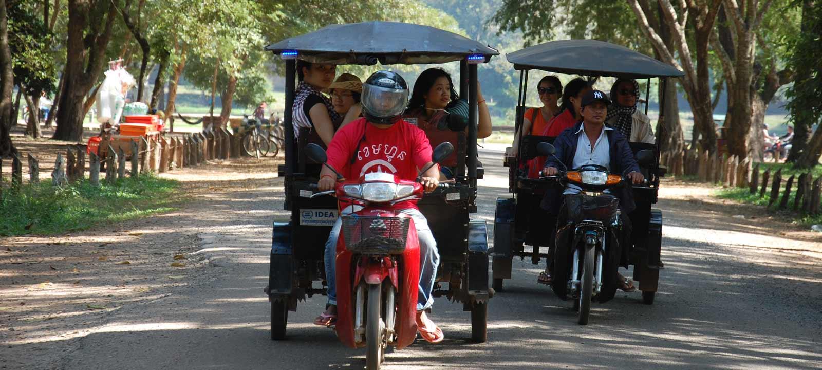Découverte de Siem Reap en Tuk Tuk