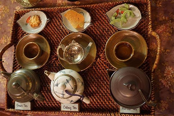 Maison de thé traditionnelle à Hoi An