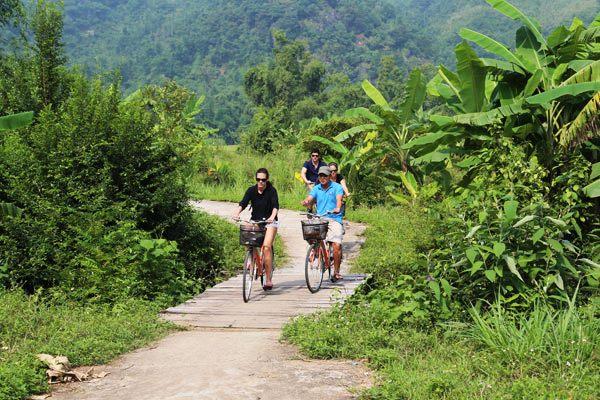 Flâner à vélo dans la vallée de Mai Chau
