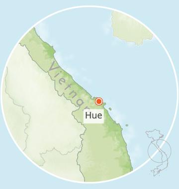 hue ecolodge, hue, vietnam, voyage, asiatica travel, carte