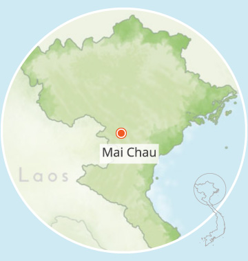 pu bin, mai chau, vietnam, voyage, asiatica travel, carte