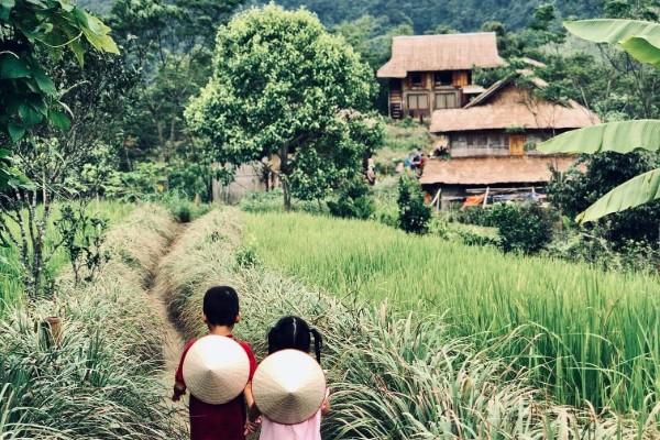 pu bin, mai chau, vietnam, voyage, asiatica travel, image
