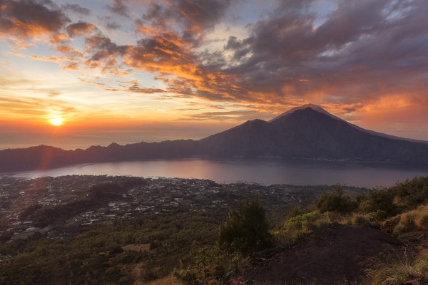 trek volcanique, mont batur, voyage indonesie, asiatica travel