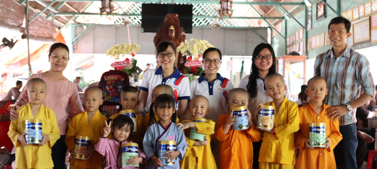 Foyer de Duc Quang - lieu de partage d'amour