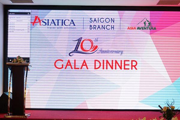 Bureau de représentation d'Asiatica Travel à Saigon : Dixième anniversaire de la fondation