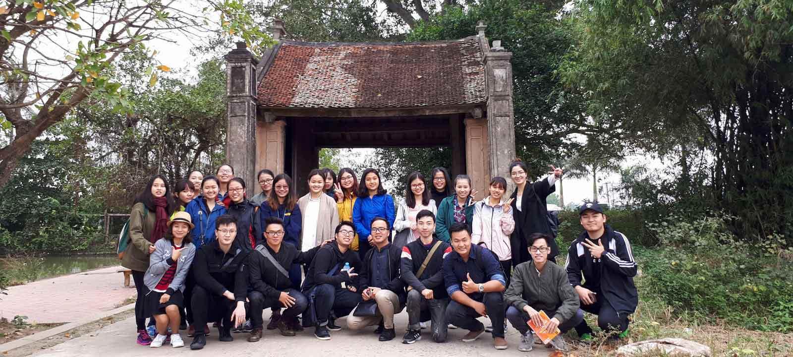 Tour de formation pour les futurs guides touristiques