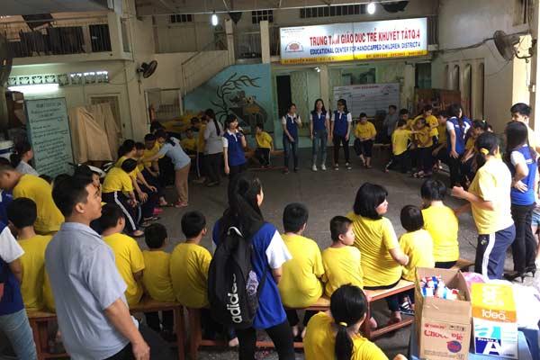 Rencontre d'émotion, mission humanitaire à Sai Gon