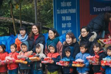 Visite de l'école TA GIANG PHINH (Sapa) en hiver