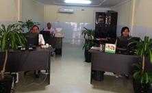 Bureau au Cambodge