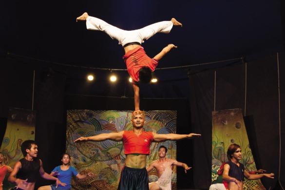 Offre du spectacle de cirque spécial à Siem Reap