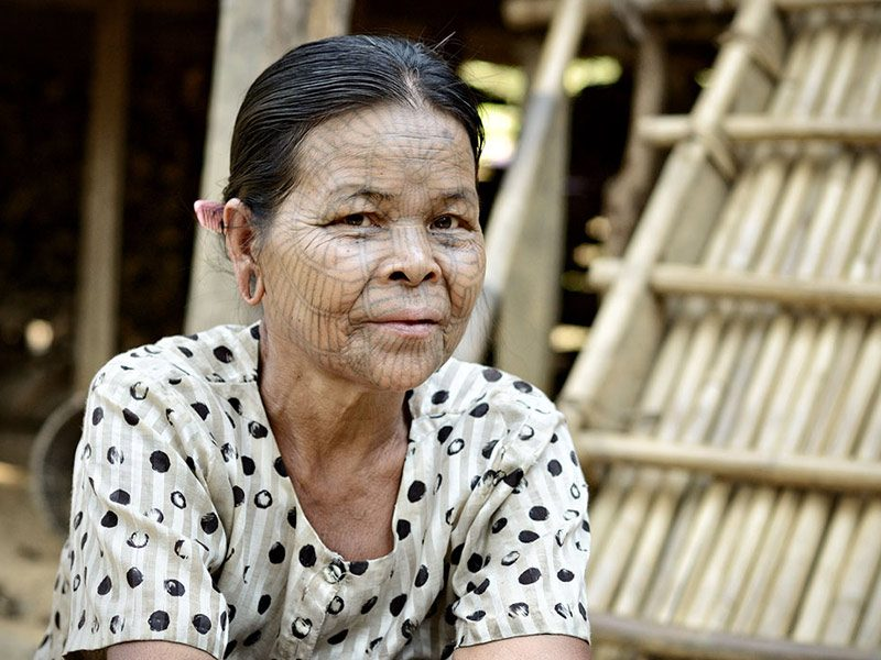 Randonnée au Myanmar