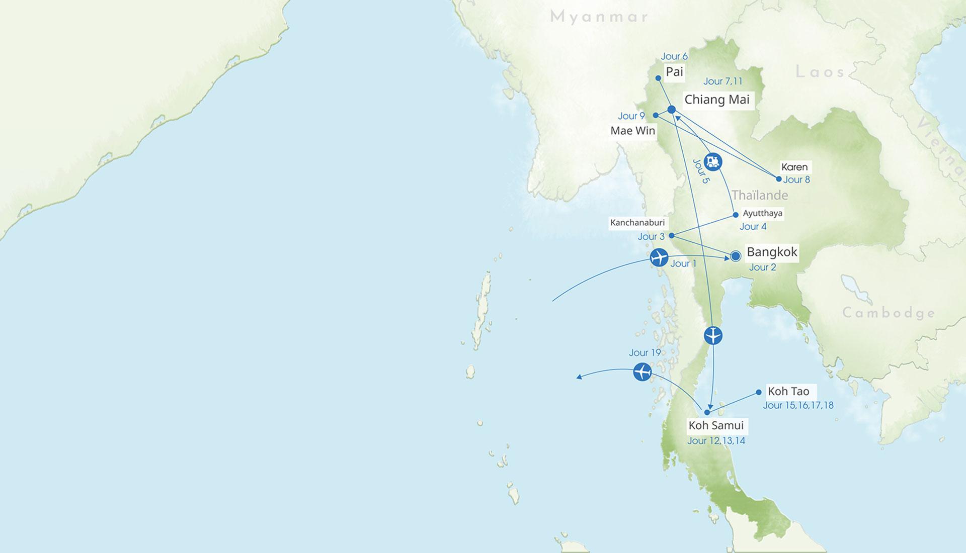 Thaïlande et ses visages
