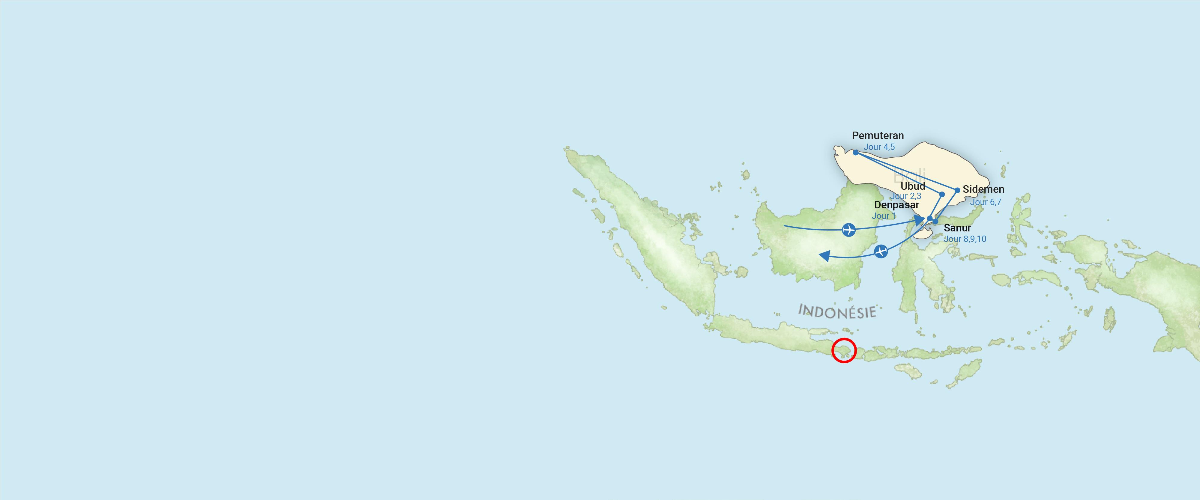 indonesie, carte, voyage, asiatica travel, essentiel, bali