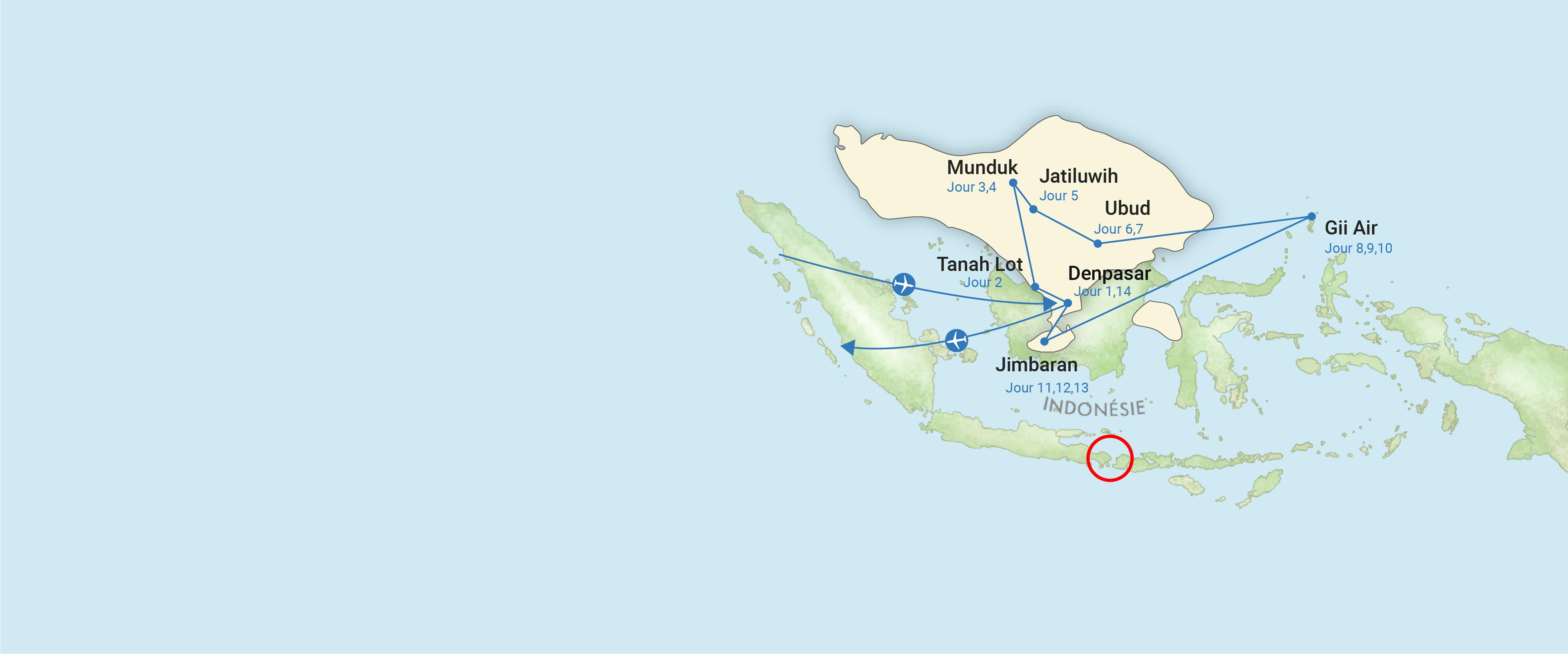 indonesie, carte, voyage, asiatica travel, plage, bali, famille