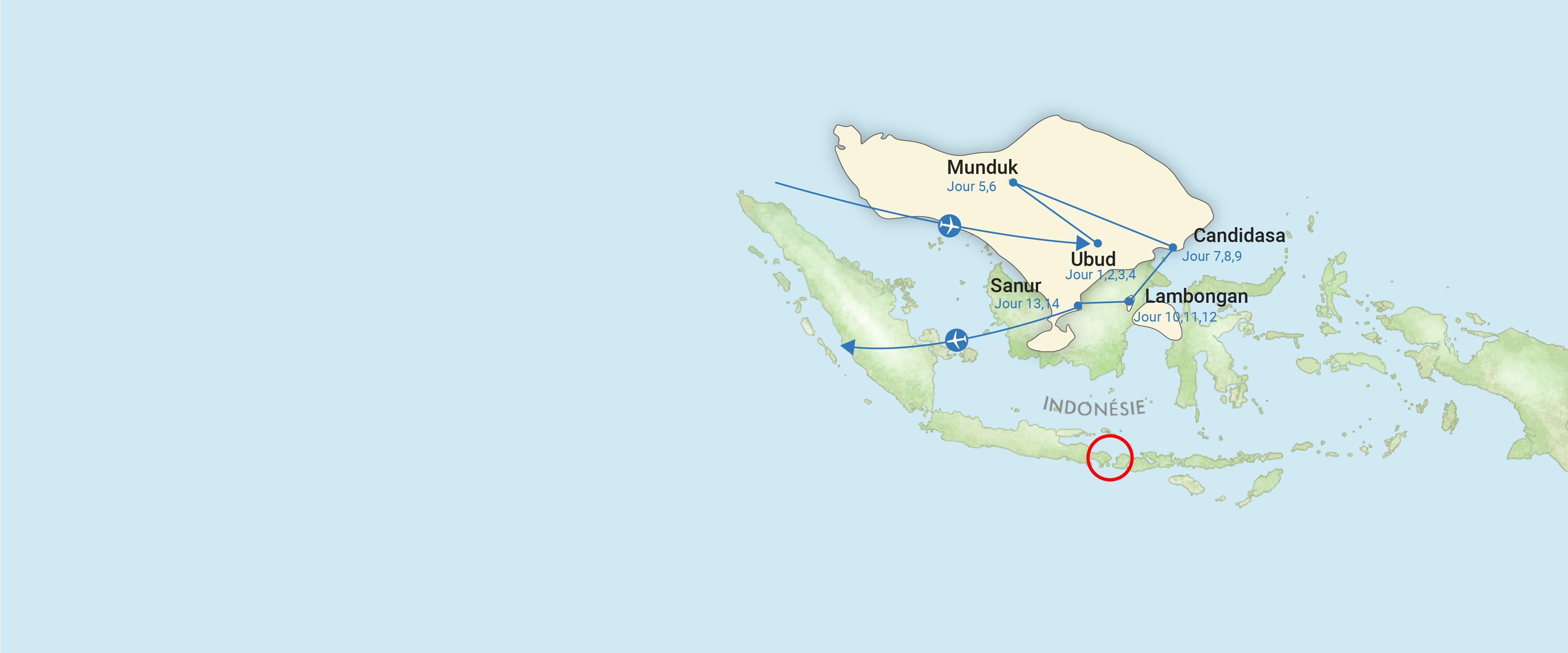 indonesie, carte, voyage, asiatica travel, bali, famille, decouverte