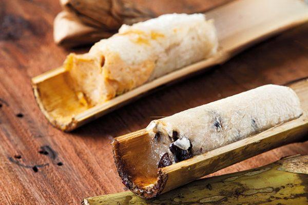 La recette facile du riz gluant fourré dans du bambou!