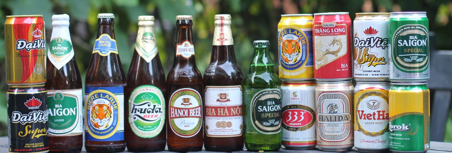 10 marques de bières préférées au Vietnam