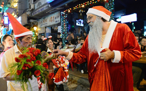 Fête de Noël au Vietnam