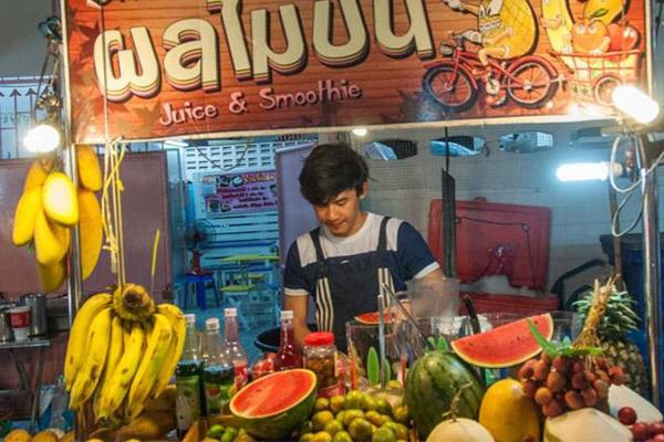 La délicieuse cuisine de rue à Bangkok
