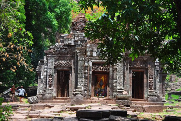 Wat Phou après son temps glorieux