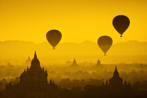 Bagan – vallée de deux milles temples