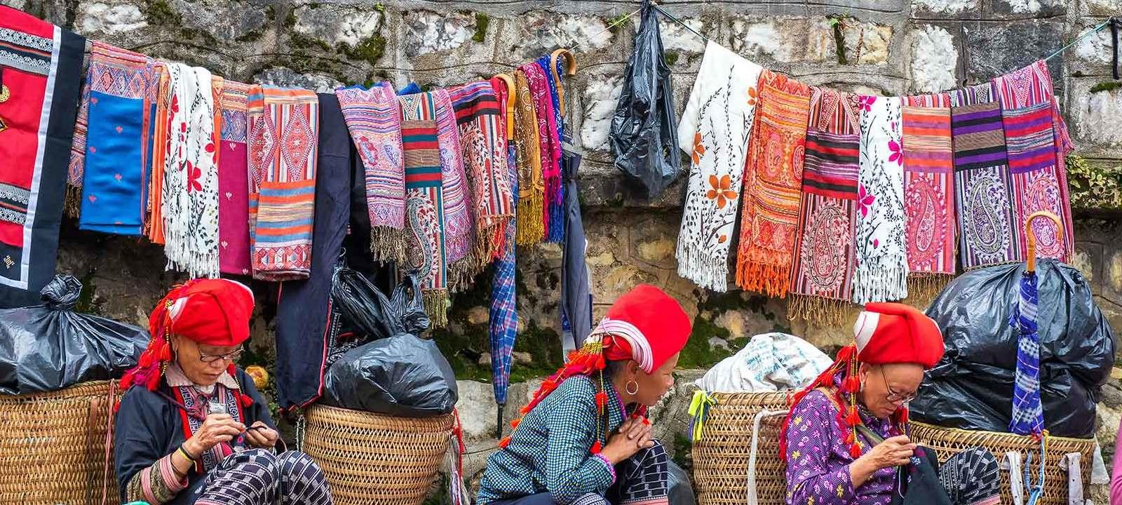 Le guide du shopping dans les marchés de Sapa