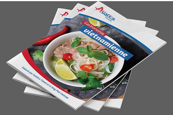 Une brochure sur la cuisine vietnamienne