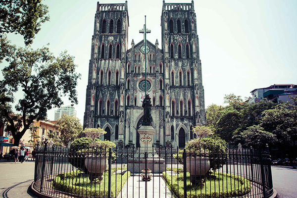La Cathédrale Saint-Joseph de Hanoi