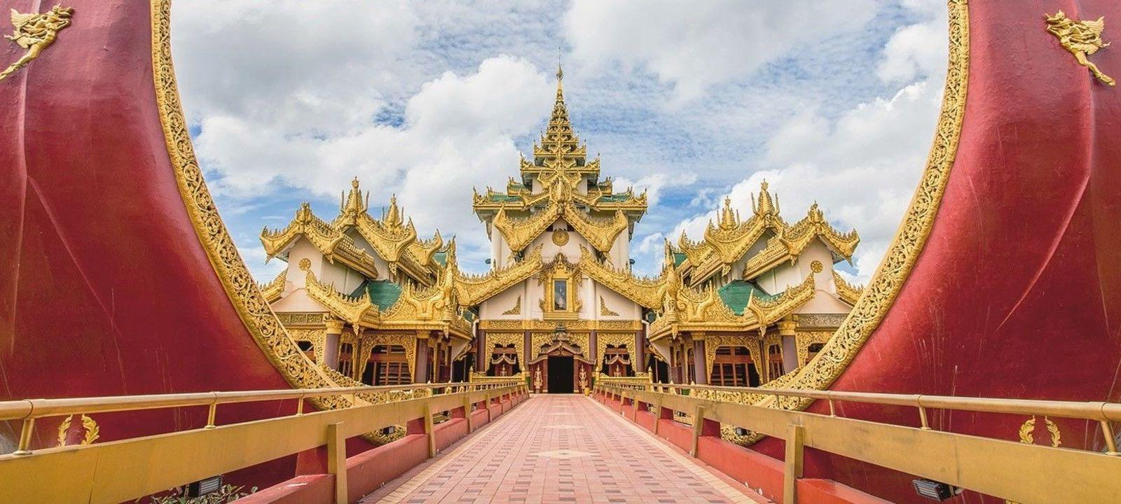 Yangon et ses couleurs opposées