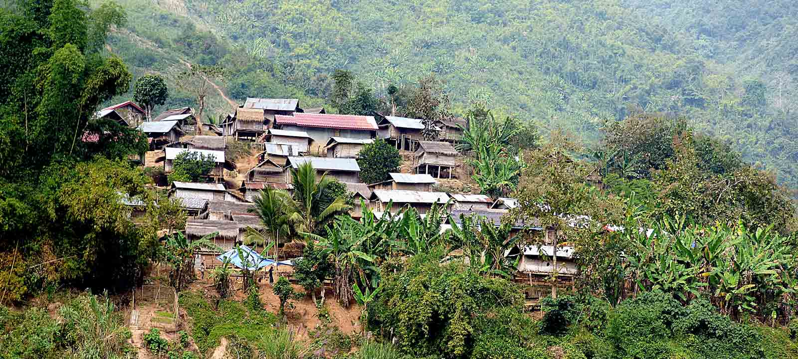 Le trésor de phongsali dans le nord du laos