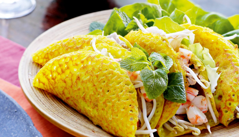 banh xeo, can tho, vietnam, cuisine