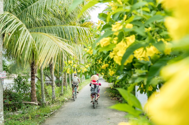 can tho ecolodge, can tho, mekong, delta, vietnam, voyage, asiatica travel, velo