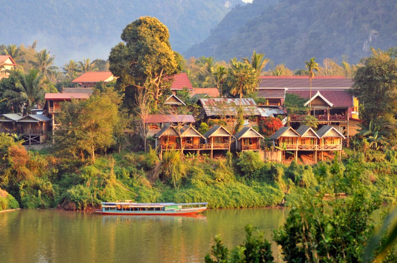 nong khiaw, laos, voyage, asiatica travel, hebergement, hotel