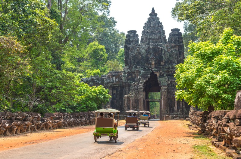 siem reap, cambodge, voyage, asiatica travel, transports